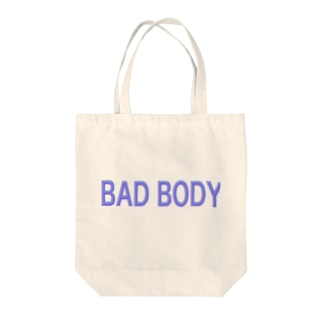 BAD BODY Tote bags