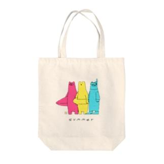 CMYKuma サマー Tote bags