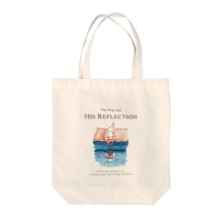 よくばりな犬 トートバッグ Tote bags