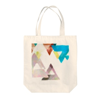 水彩幾何学 Tote bags