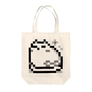 すやすやユラウねこ Tote bags