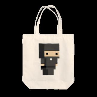 WINGLAYの黒忍者トートバッグ