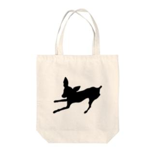 ミニピンのあずきちゃん Tote bags