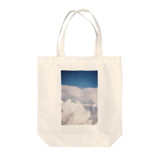 look up to the sky Tote Bag