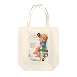 レトロアメリカン3 Tote bags