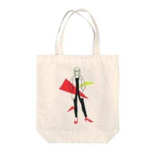 ハイヒール Tote bags