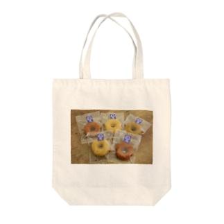 美味しい焼きドーナツ Tote bags