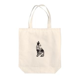 【狼】 by harumin Tote bags