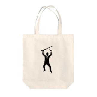 サムライハーツ Tote bags