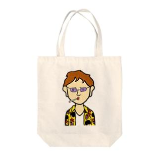 チンピラさん Tote bags
