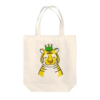 トラ1 Tote bags