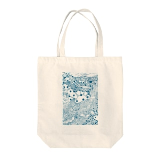海を掬う Tote bags