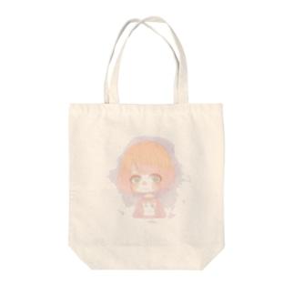 ボブの女の子 Tote bags
