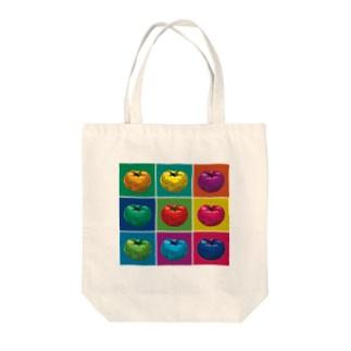 カラフルトマト Tote bags