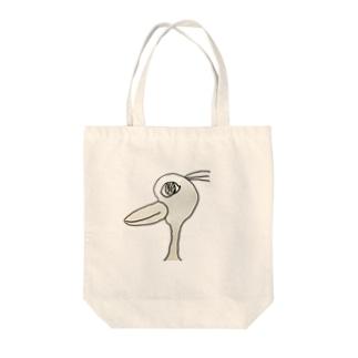 明日を見つめる鳥 Tote bags
