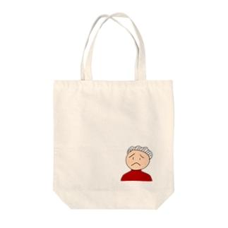 古参ファンの小原さん Tote bags