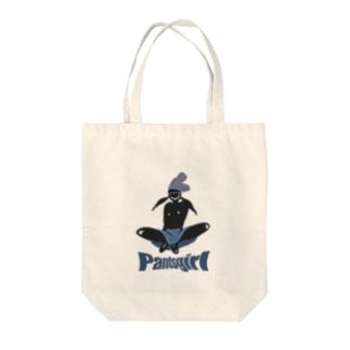 Pantsgirl Tote bags