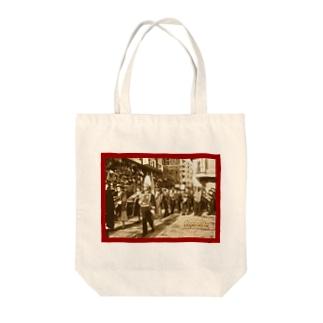 スペイン:レコンキスタのパレード Spain: Parade of the Reconquista Tote bags