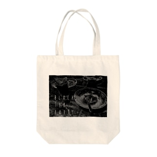 黒の茶会 Tote bags