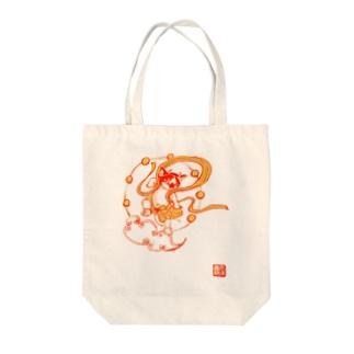 雷神千坊 Tote bags