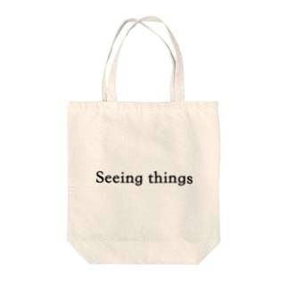 Seeingthings Tote bags