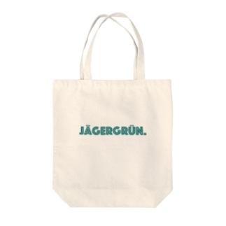 Jägergrün. by mincora. Tote bags
