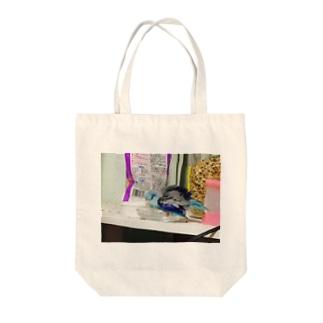 マメルリハインコ Tote bags