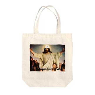 バケットハットキリシタン Tote bags