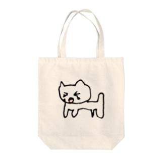 元祖ねこ博士ホワイトニング Tote bags