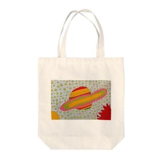rihoの土星 Tote bags
