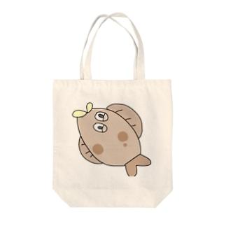 ひらめくん🐟 Tote bags