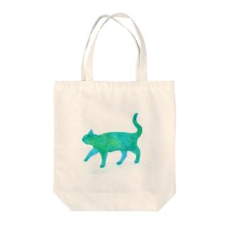 星の猫 Tote bags