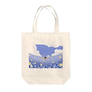 バタフライ Tote bags