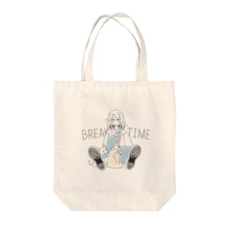 ジャンクフード少女 Tote bags