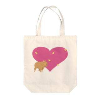 フレンチぶる Tote bags