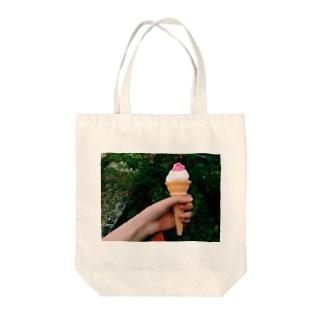 駄菓子屋のあれ Tote bags