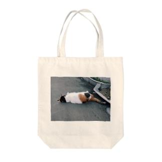魔性の猫(オフショット) Tote bags