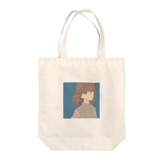 なつかしい青 Tote bags