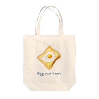 目玉焼き&トースト Tote Bag