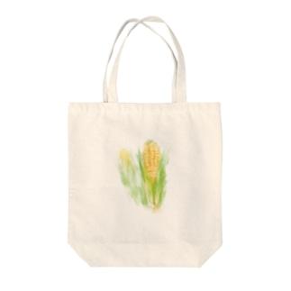 ベジタブルバッグ(トウモロコシ) Tote bags