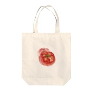 ベジタブルバッグ(トマト) Tote bags