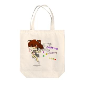 愛娘(仮):くのいち Tote bags
