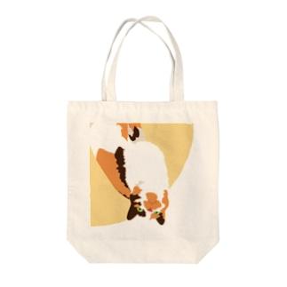 食えない猫のきにゃこさん Tote bags