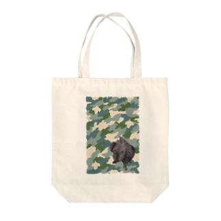 クロイトイプー Tote bags