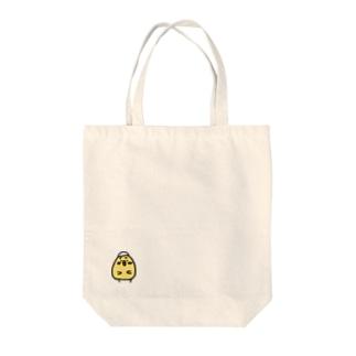 ぼっちひよこ Tote bags