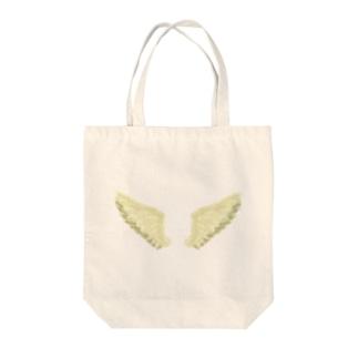せきね まりのの天使の羽 Tote bags