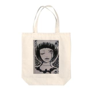 TSUNO-GIRL Tote bags