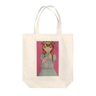 エリー Tote bags