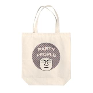 パーティーピーポー Tote bags