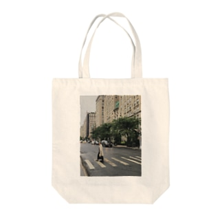 cloudy day Tote bags